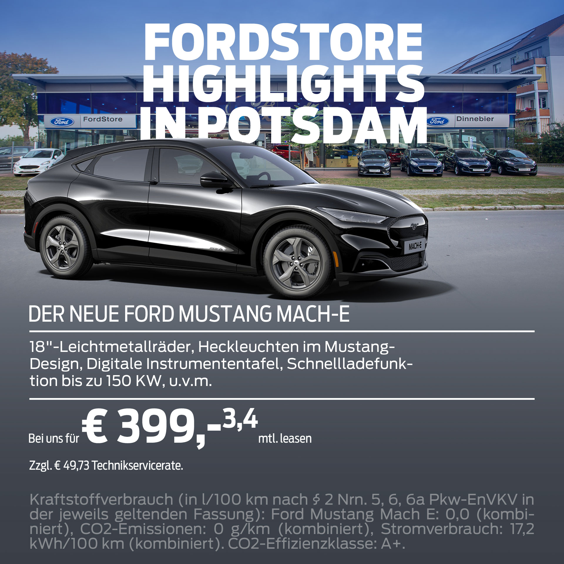 FordStore Potsdam – Ford Mustang Mach-e